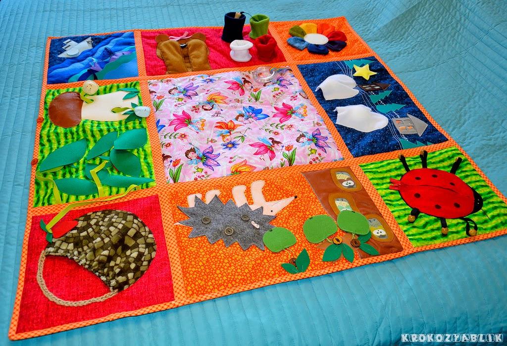 Diy Sensory Rugs For Kids Montessori Nature