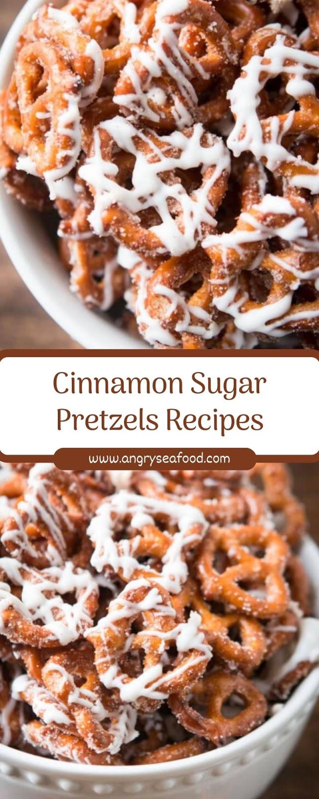 Cinnamon Sugar Pretzels Recipes