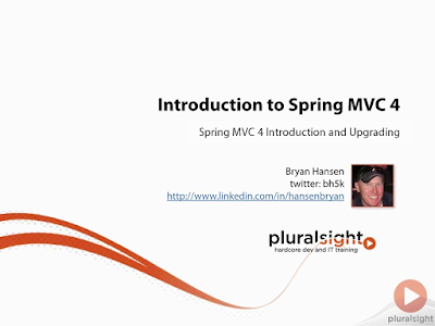 best course to learn Spring MVC