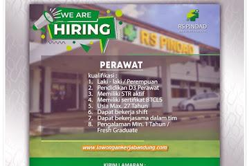 Lowongan Kerja Perawat RSU Pindad Bandung