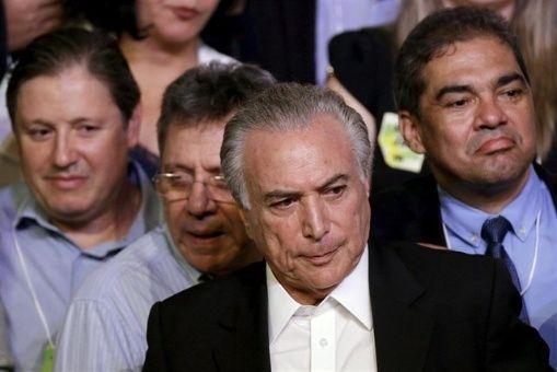 Congreso de Brasil debate denuncias de corrupción contra Temer