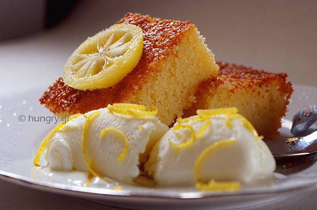 Semolina and Yogurt Cake