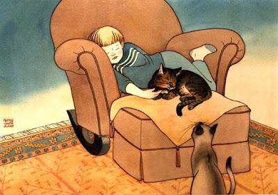 lutto di un gatto amico