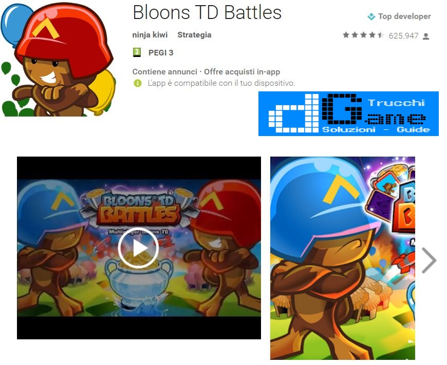 Trucchi Bloons TD Battles Mod Apk Android 4.2.1