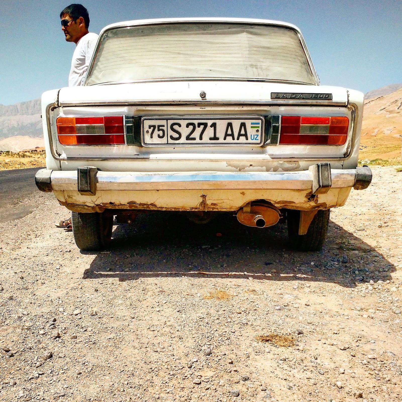 Le Chameau Bleu - Chauffeur dans le sud de l'Ouzbékistan - Boysun