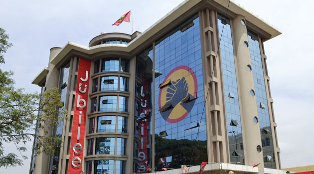 Jubilee party headquarters at Pangani offices photos and video