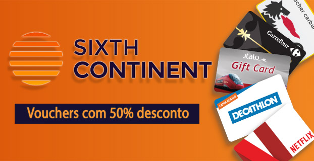 sixthcontinent amazon decathlon cepsa voucher presente