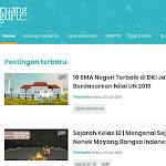 Download Template Blog Mirip Ruang Guru Gratis Dan Berbayar