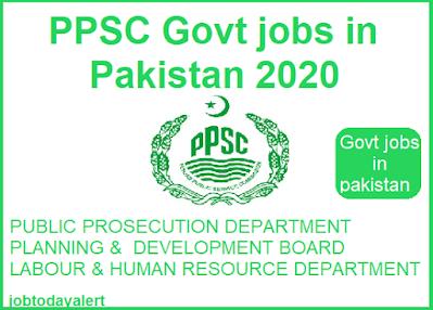 PPSC-Govt-jobs-2020, ppsc jobs, jobs in pakistan, govt jobs