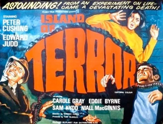 Poster - Island of Terror (1966)