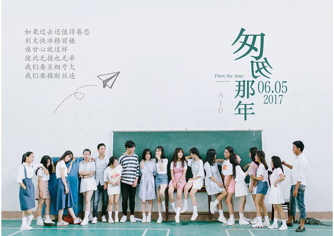 Bộ ảnh kỷ yếu đẹp như Poster phim của teen mùa chia tay