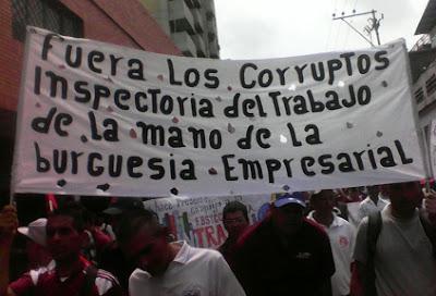 Lara: obreros denuncian criminalización de la lucha sindical