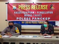 Tergiur Tiket Perjalanan Murah, 40 ASN Pangkep Tertipu Travel Fiktif Puluhan Juta Rupiah