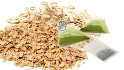 Home Made Face Pack – Combine oats with green tea