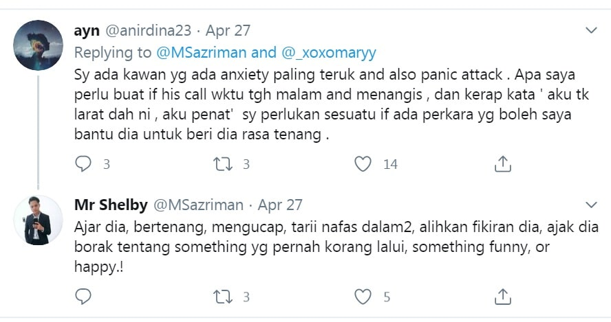 panic attack anxiety attack apa beza tanda simptom