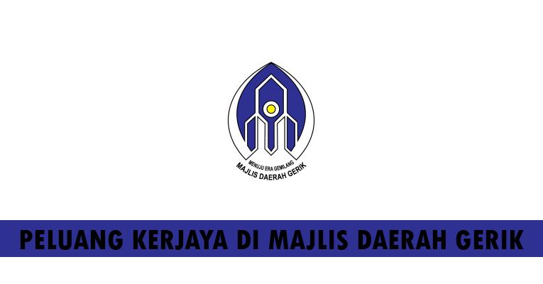 Kekosongan Terkini di Majlis Daerah Gerik