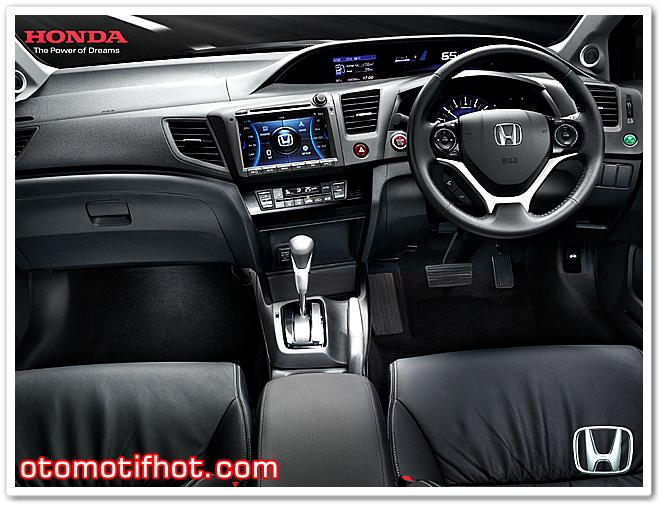 Interior Honda Civic Terbaru 2015