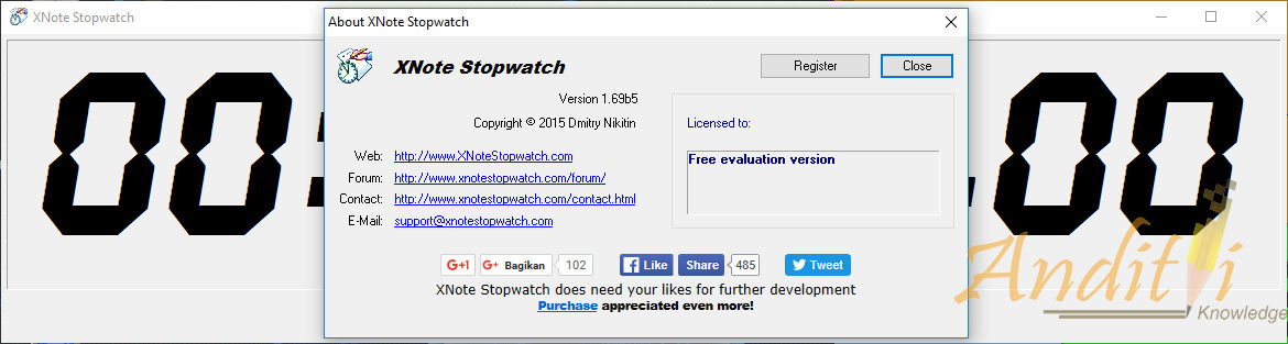 Download Xnote Stopwatch v1 69b5 Free ~ Anditii