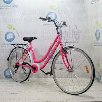 26 evergreen sakura city bike