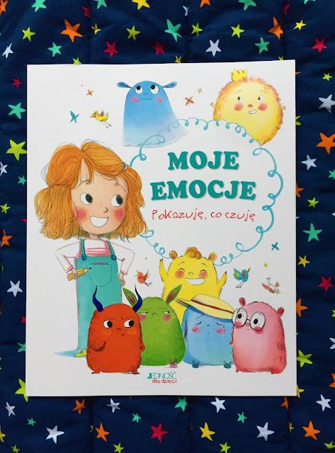 """Recenzje #187 - """"Moje emocje pokazuję, co czuję"""" - okładka książki - Francuski przy kawie"""
