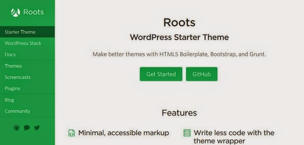 Roots WordPress starter theme