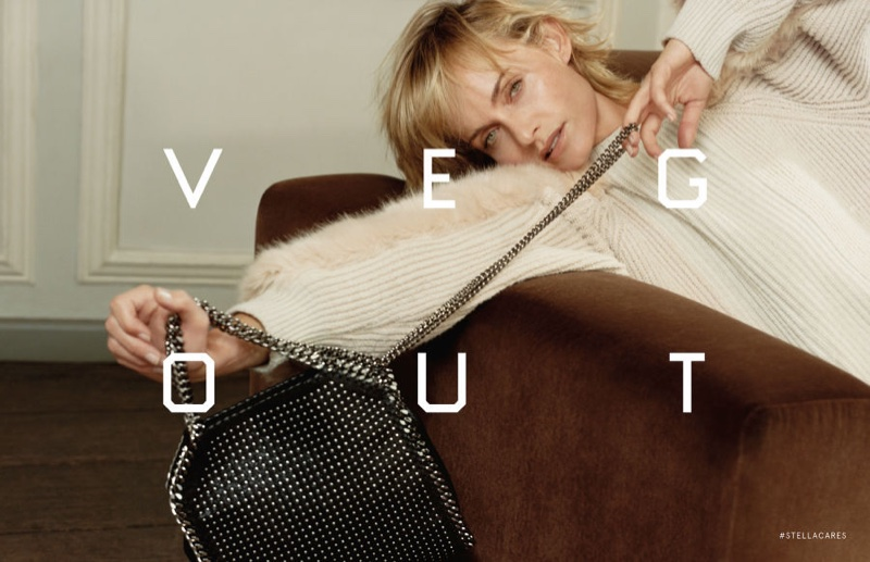 Stella McCartney Fall/Winter 2016 Campaign stars Amber Valletta