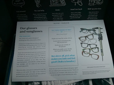 Warby Parker Home Try On Kit