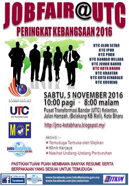 Jobfair@UTC Peringkat Kebangsaan 2016