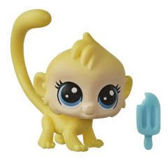 Littlest Pet Shop Keep Me Pack Tiny Pet Carrier Monkey (#No#) Pet
