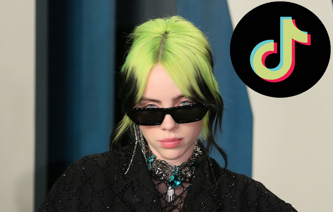 Billie Eilish made a lot of noise with their TikTok account