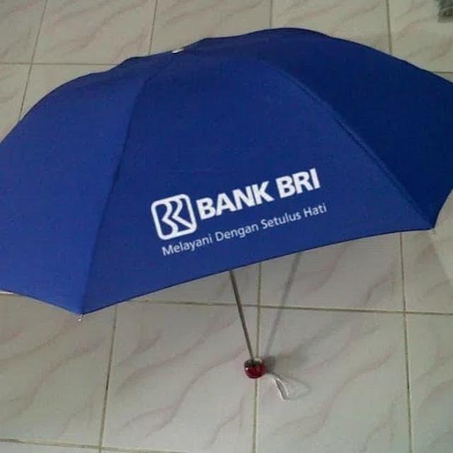 Sablon Payung Bank BRI