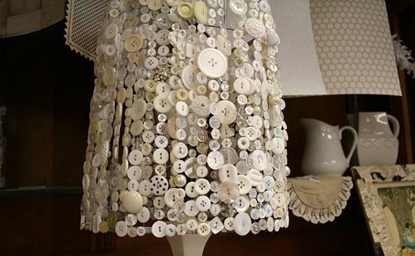Desain Kap Lampu Cantik Feminim