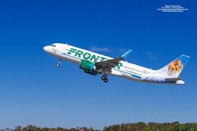 Airbus A320neo, N343FR, Frontier Airlines