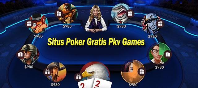 Situs Poker Gratis Pkv Games