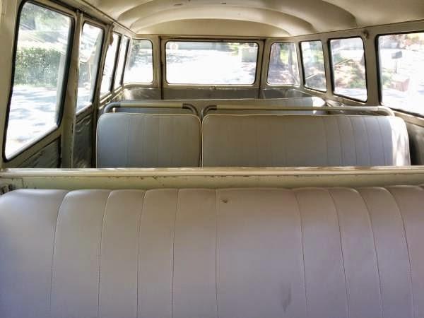 1966 VW Bus DeLuxe Split 15 Windows   vw bus wagon