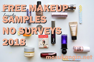 Free Makeup Samples by Mail 2018 With Free Shipping