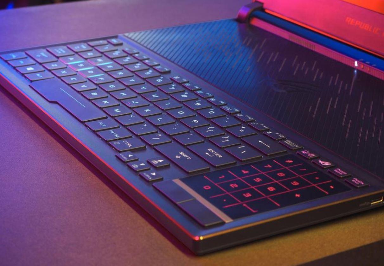 Keyboard Gaming dengan Aura Sync