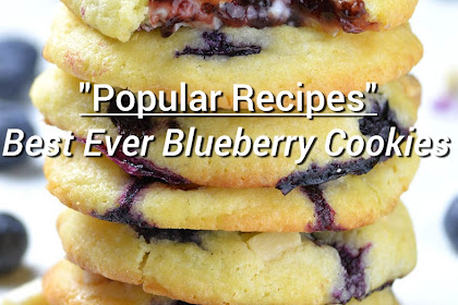 Best Ever Blueberry Cookies