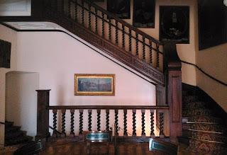Schody z Małej Jadalni Pałacu w Nieborowie