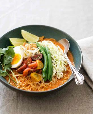 Vegetarian Curry Laksa Recipe