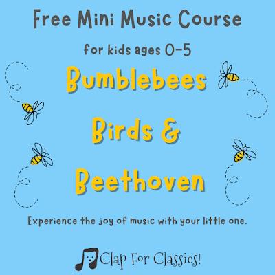 Clap for Classics! free online preschool music class
