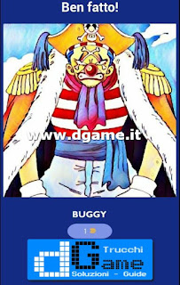 Soluzioni Guess The One Piece Character livello 14