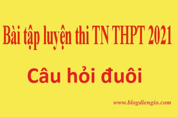 Ôn thi tốt nghiệp THPT | Câu hỏi đuôi