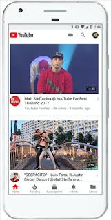 يوتيوب, تجري, عدة, تغييرات ,في, التصميم , وتعتمد ,شعار ,جديد,YouTube,changes,design,and,new,logo,