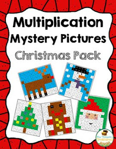 Multiplication Mystery Pictures