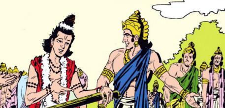 Narada and Indra