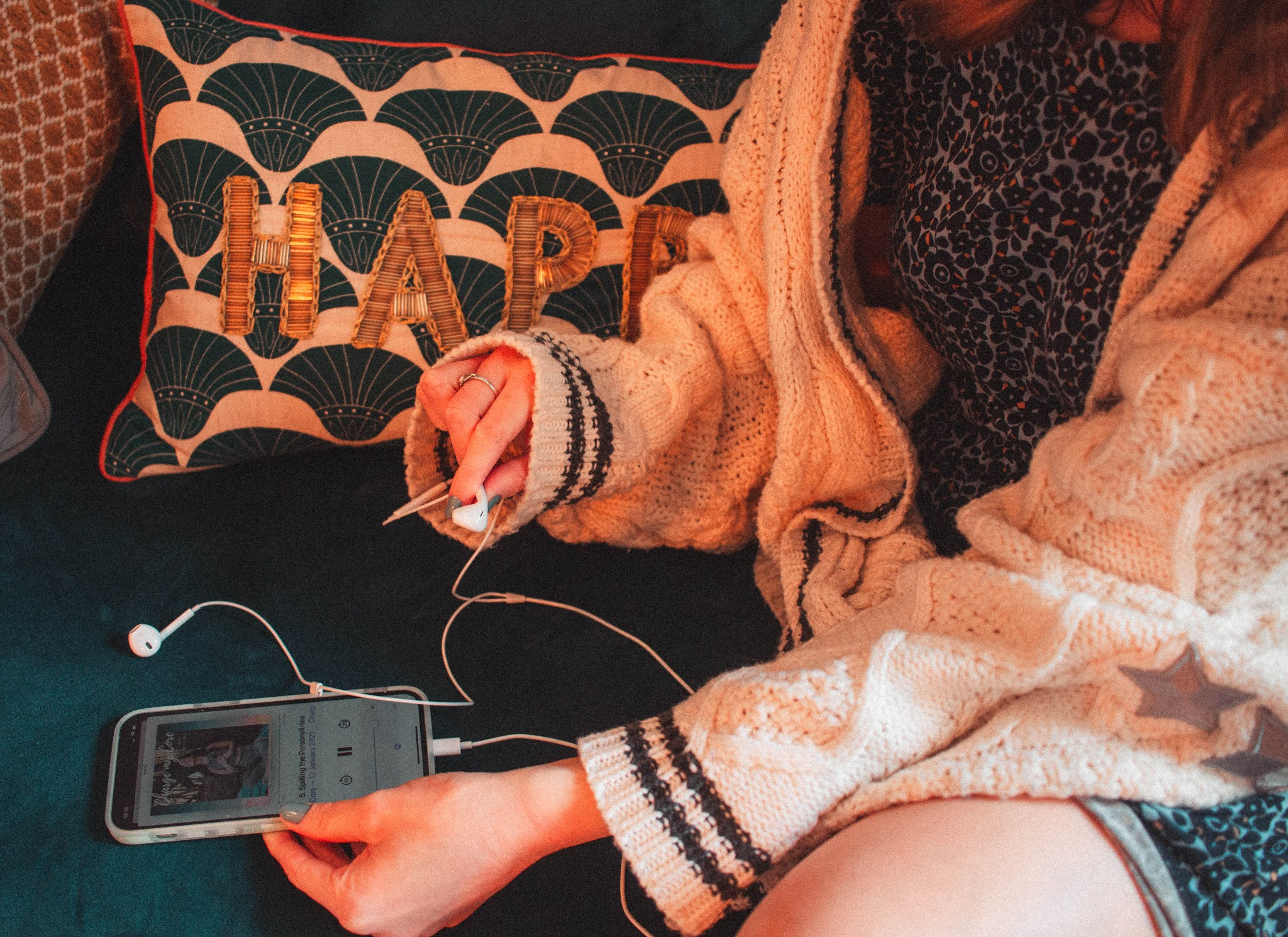 2021 Podcasts I'm Loving. At Home With Lily and Anna, Soul Sugar, Charge My Core etc
