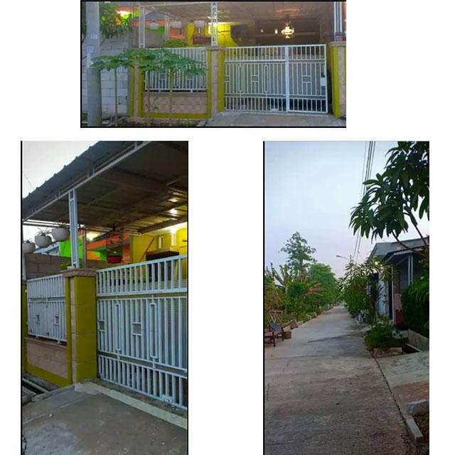 Halaman Depan (Overdoor) - Jual Over Kredit Rumah Minimalis di Rajeg, Tangerang