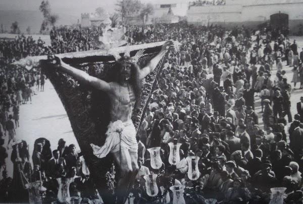 La histórica Semana Santa de la II República en la que El Cristo salió por las calles de Jerez
