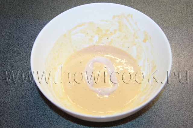 рецепт кальмаров в кляре с пошаговыми фото
